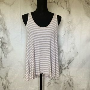 3/$10 Mahina Swing Striped Top